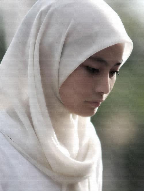 Seorang wanita Muslim dari Kista, utara Stockholm, yang ditolak ...